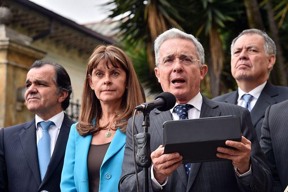 L'apertura di Uribe a un nuovo accordo con le Farc