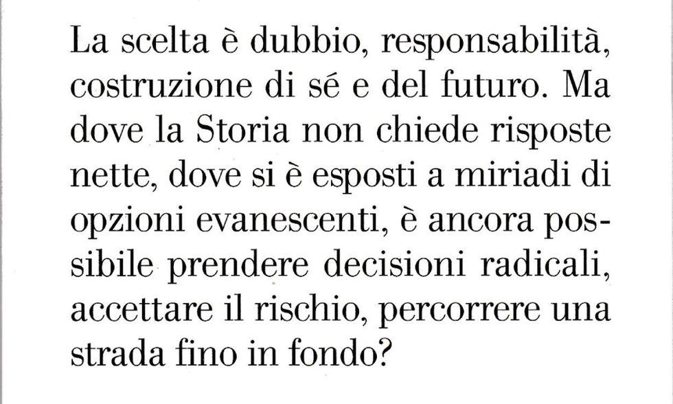 Paolo di Paolo, 'Tempo senza scelte'