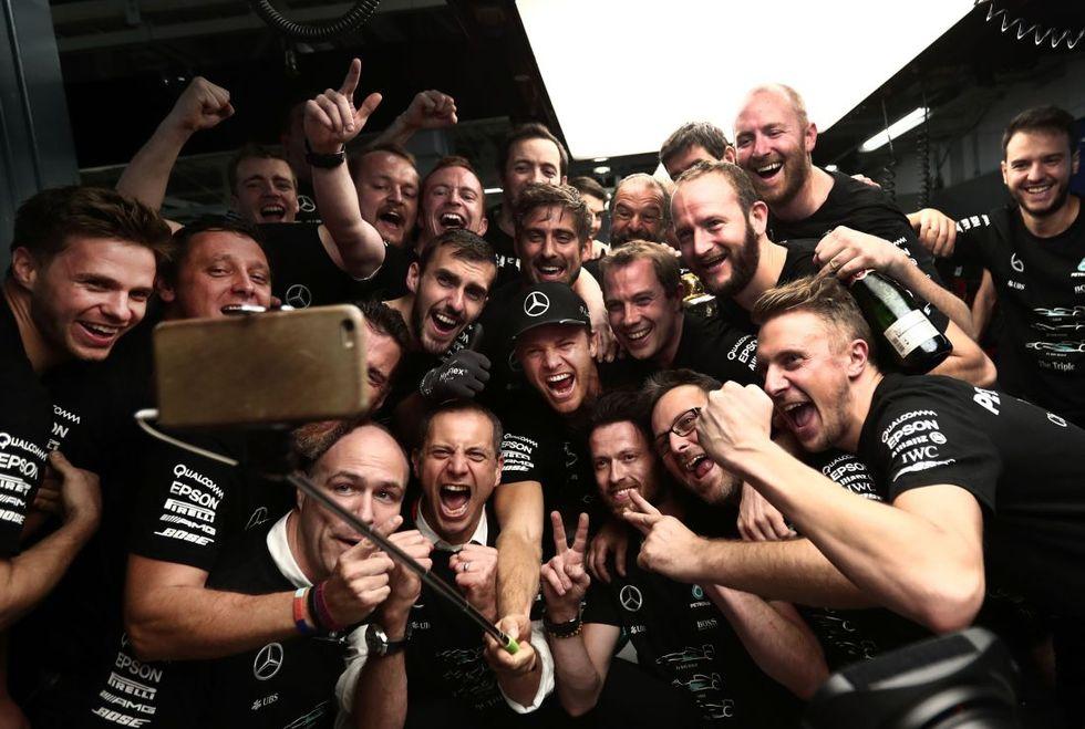 F1: la Mercedes vince in Giappone il 3° titolo mondiale costruttori consecutivo