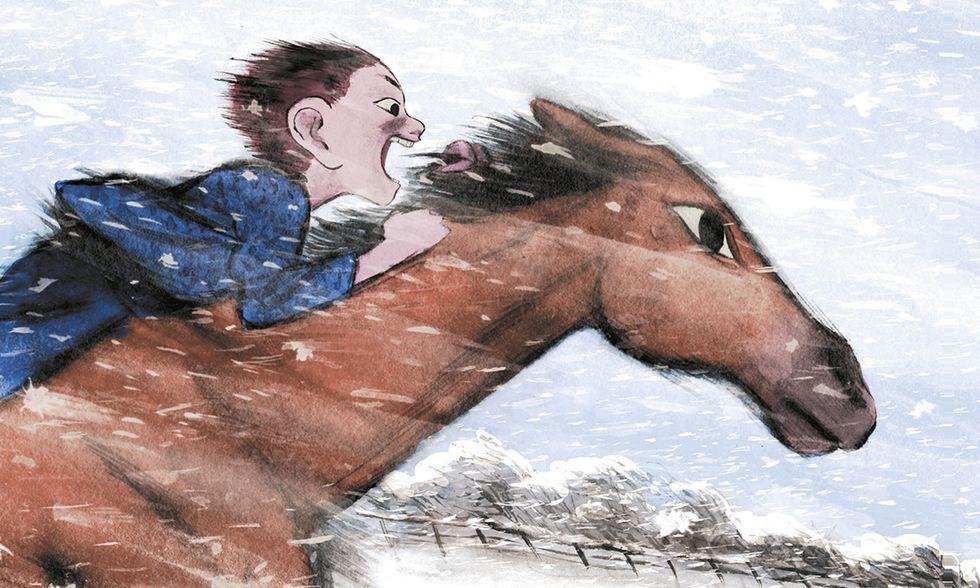 'Corri, Tempesta!': vento, corsa, amicizia in un graphic novel per ragazzi
