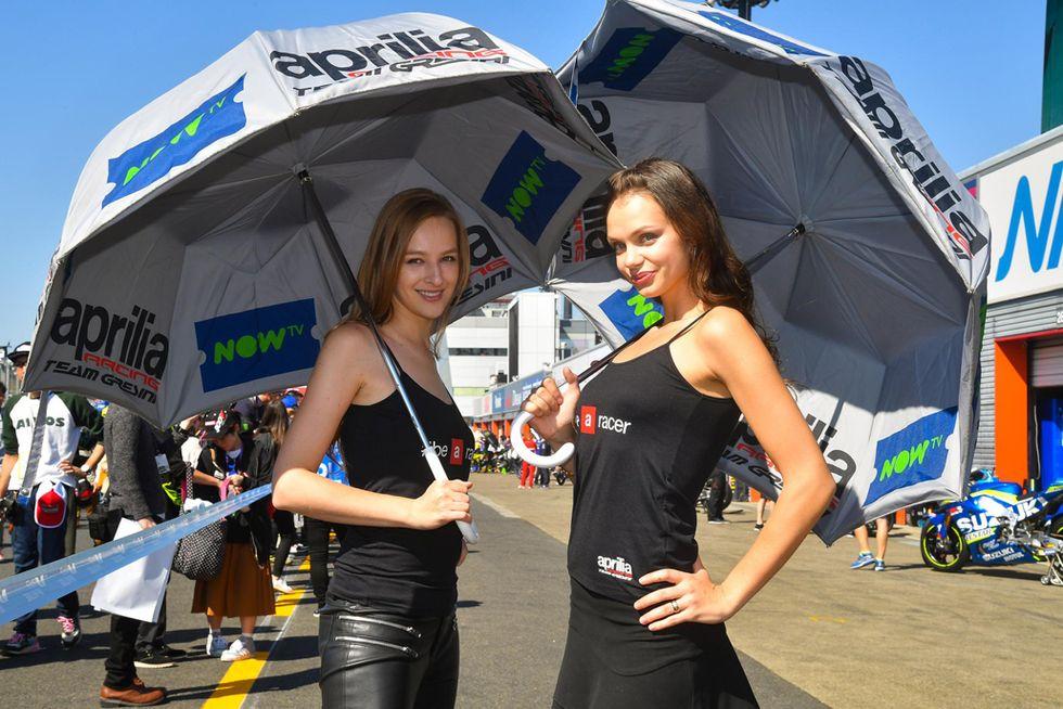 Grid Girls MotoGP del Giappone 2016