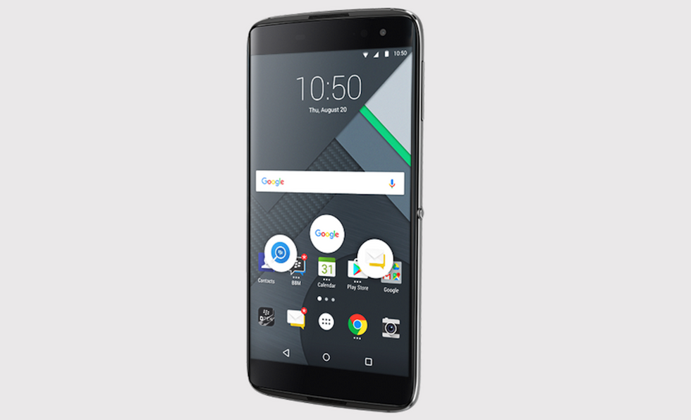 Sette vite per BlackBerry: ecco DTEK60