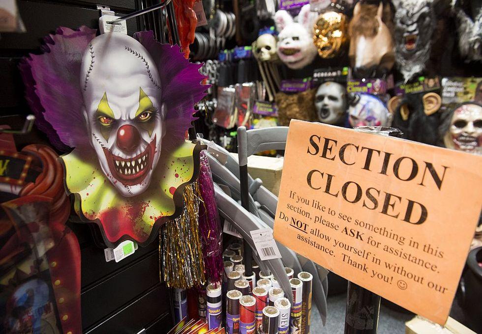 "Halloween, allarme per i ""clown cattivi"""