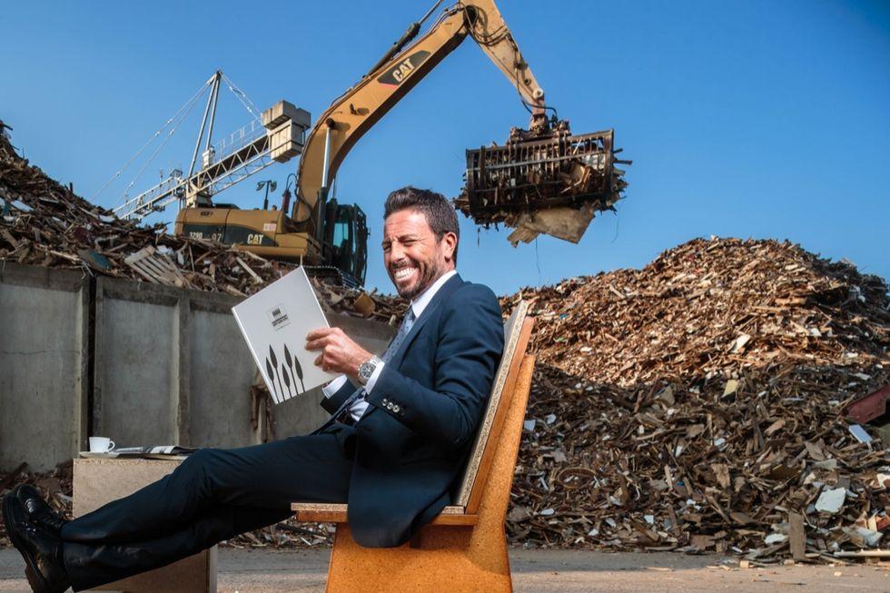La vita infinita del legno riciclato