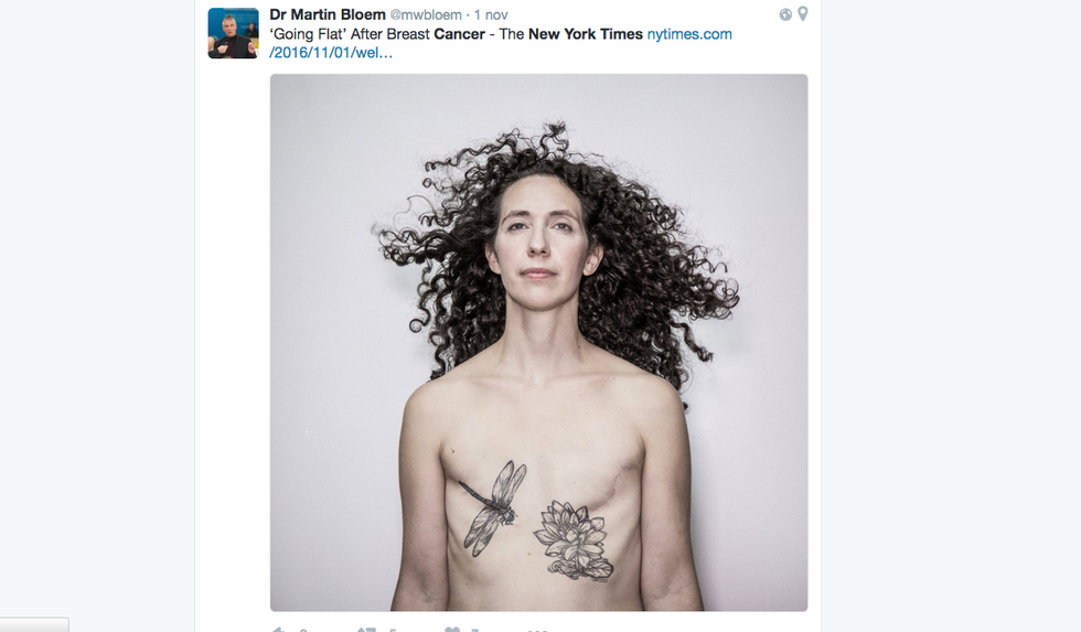 La campagna Going flat sul New York Times