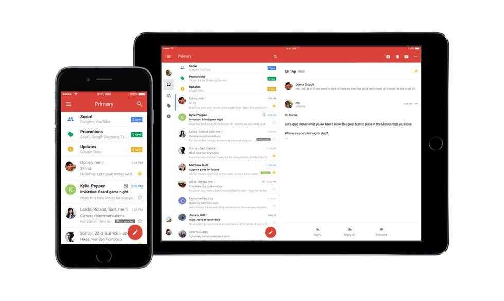 Gmail per iPhone è tutto nuovo: ecco cosa cambia