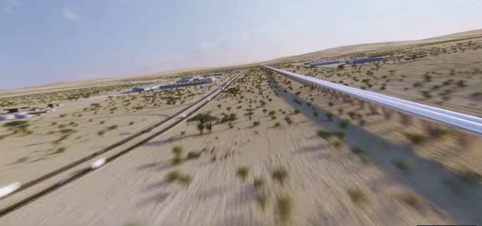 Da Dubai ad Abu Dhabi in 12 minuti con Hyperloop One