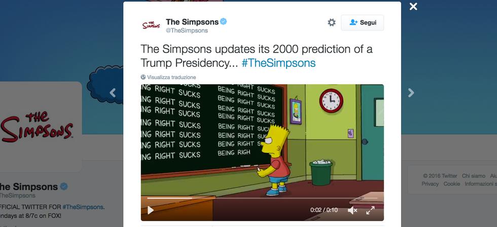 Il mea culpa di Bart