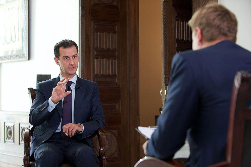 Se Bashar al Assad tende la mano a Donald Trump