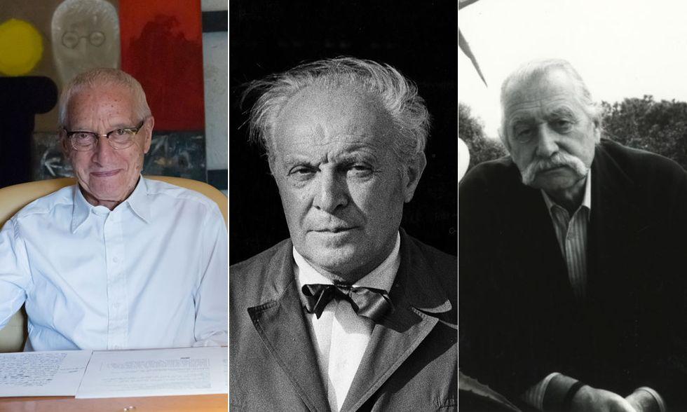 Alessandro Mendini, Gio Ponti, Ettore Sottsass