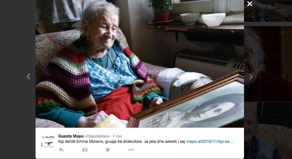 Emma Morano, 117 anni