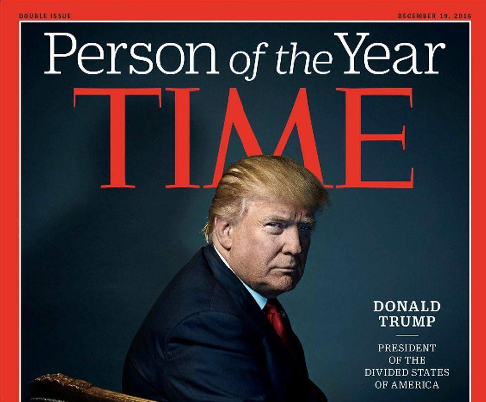 """Donald Trump è """"Uomo dell'Anno 2016"""" per Time Magazine"""