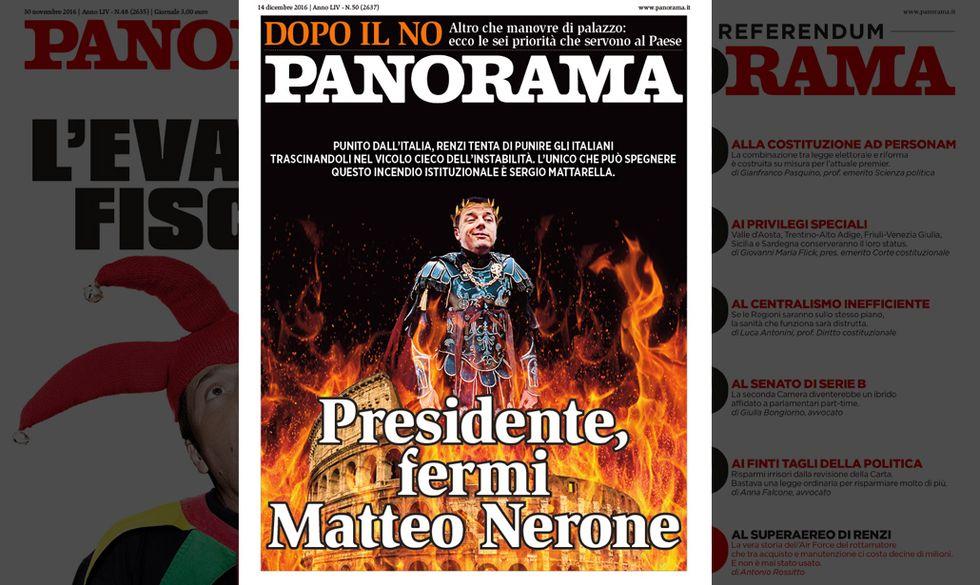 Presidente, fermi Matteo Nerone