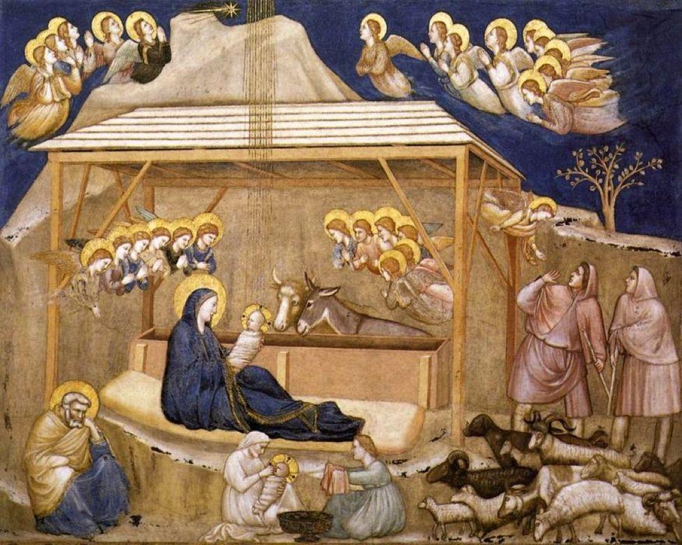 Il Natale di Francesco, Giotto e Bergoglio