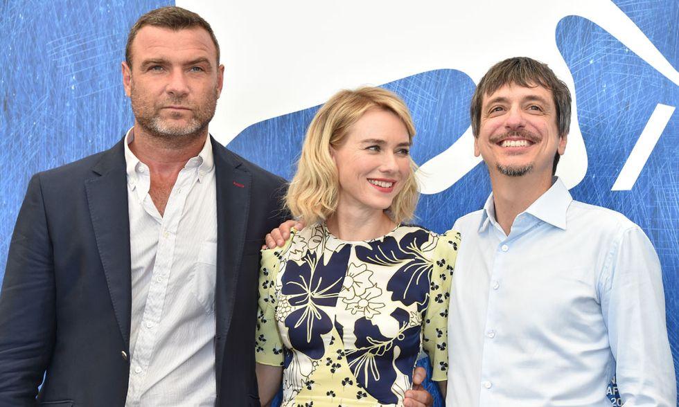 Liev Schreiber, Naomi Watts e il regista Philippe Falardeau