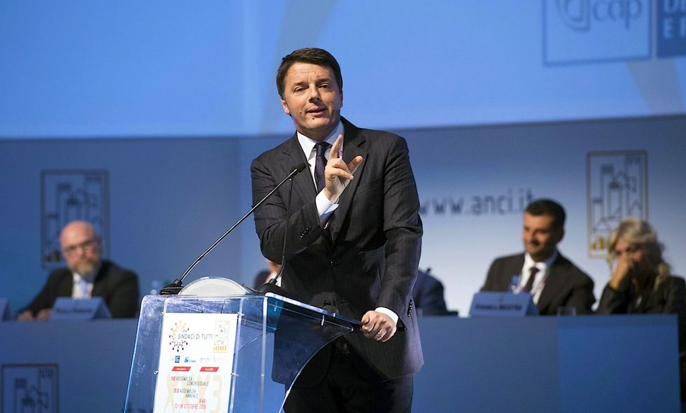 Renzi a sindaci,non rassegnarsi Italia complottista