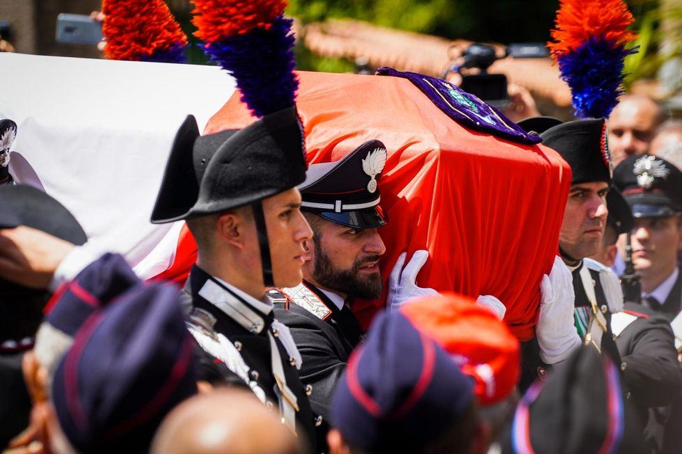Funeral of Mario Cerciello Rega