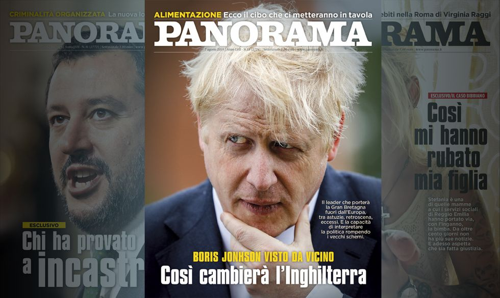Boris Johnson cambierà l'Inghilterra   Panorama in edicola