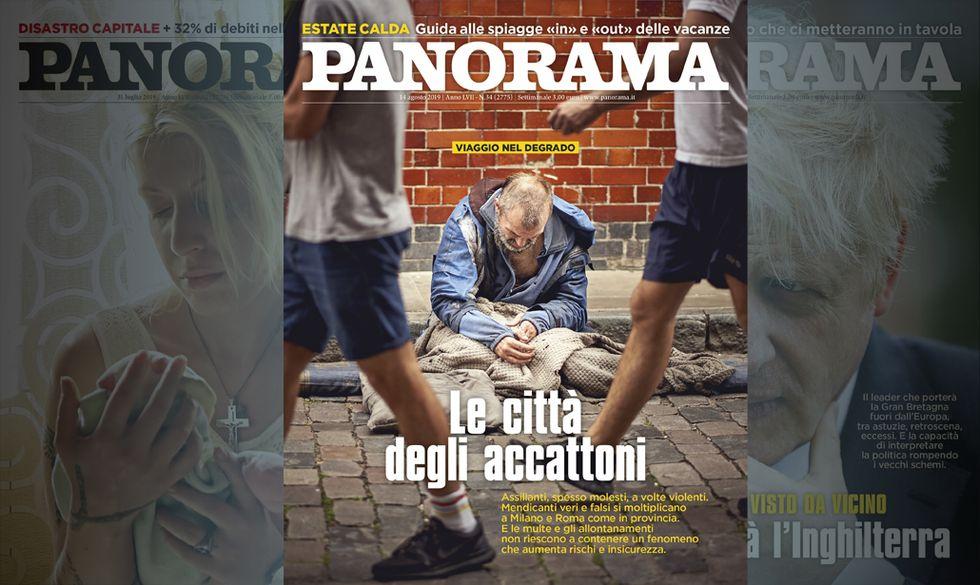 Italia accattona - in edicola