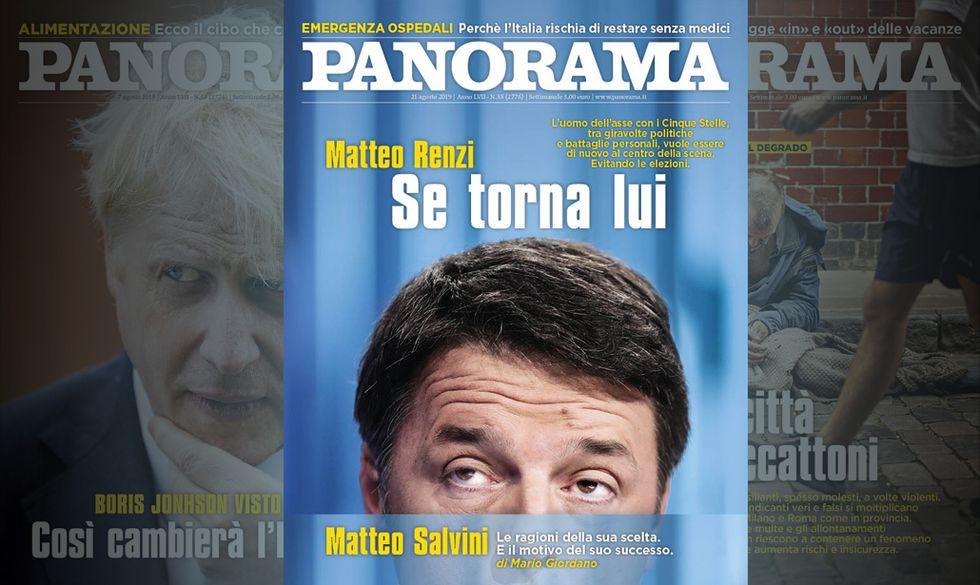 Se torna Renzi - Panorama in edicola
