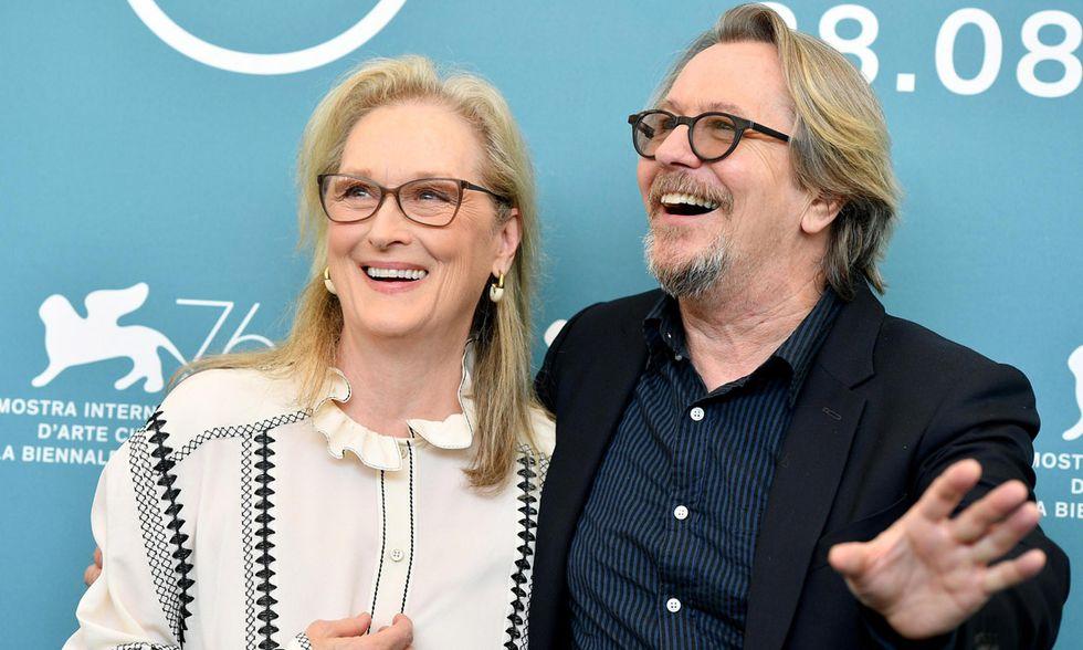 Gary Oldman e Meryl Streep