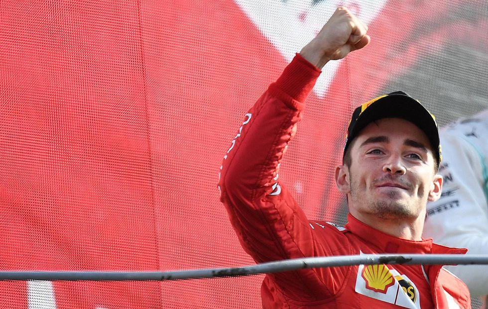 Leclerc Ferrari Monza Formula 1