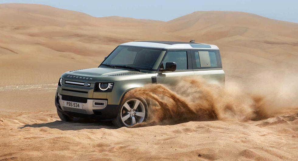 Land Rover presenta la nuova Defender
