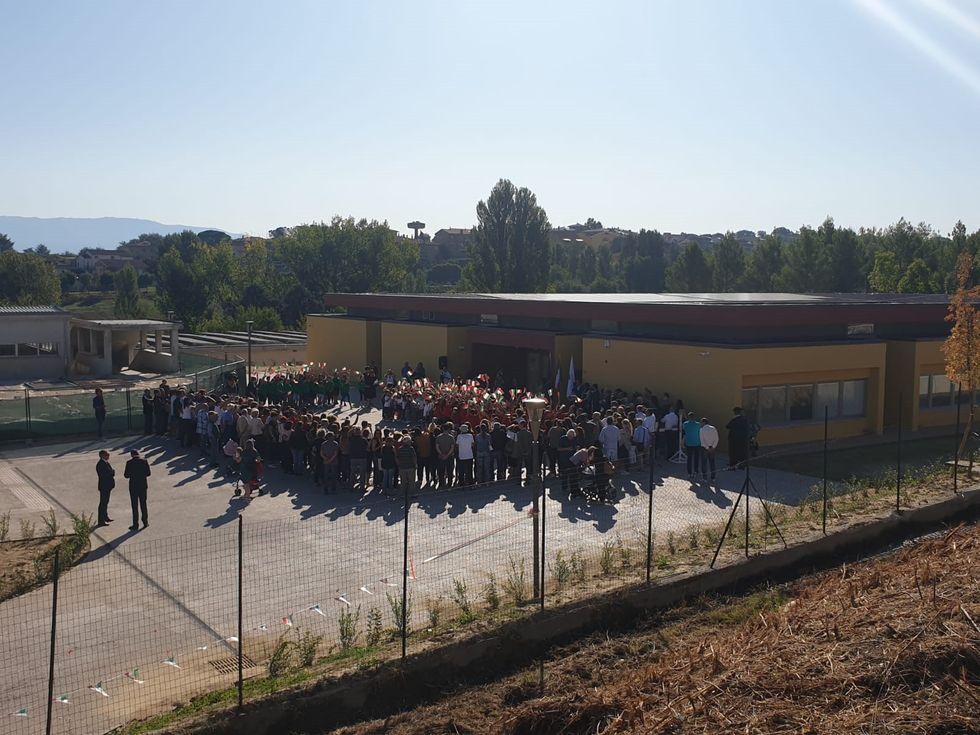 Rinascono in Umbria due scuole distrutte dal terremoto. Ora sono ecosostenibili