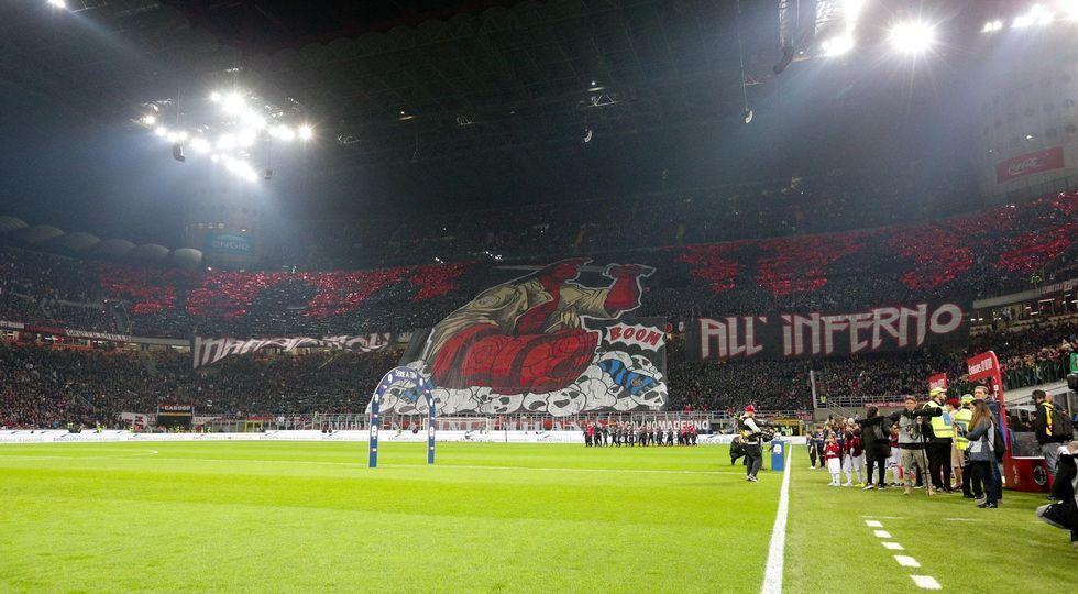milan inter derby tifosi curve
