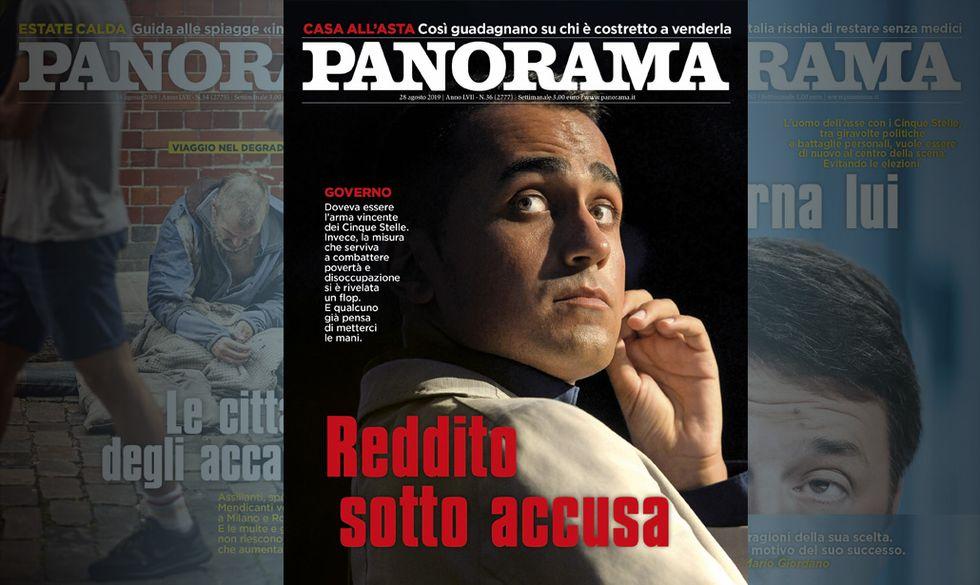 Reddito di Cittadinanza sotto accusa - Panorama in edicola