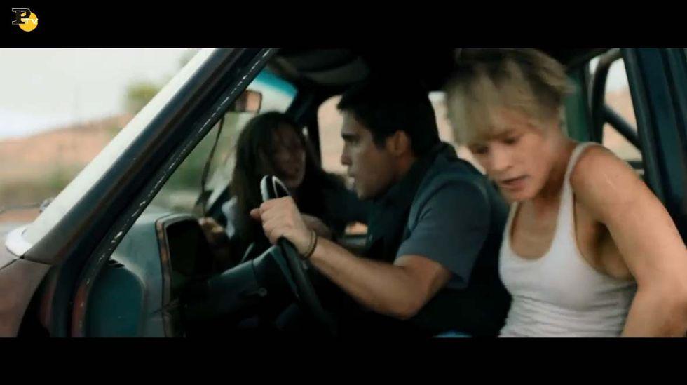 Terminator - Destino oscuro: clip con Mackenzie Davis
