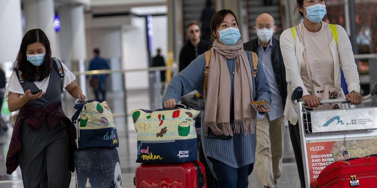 virus cina coronavirus aeroporto