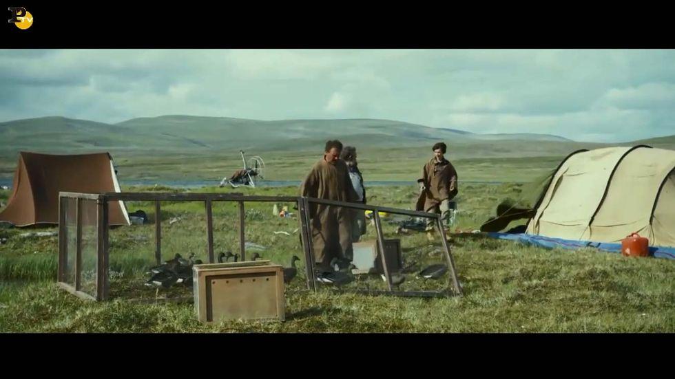 Sulle ali dell'avventura: clip del film di Nicolas Vanier