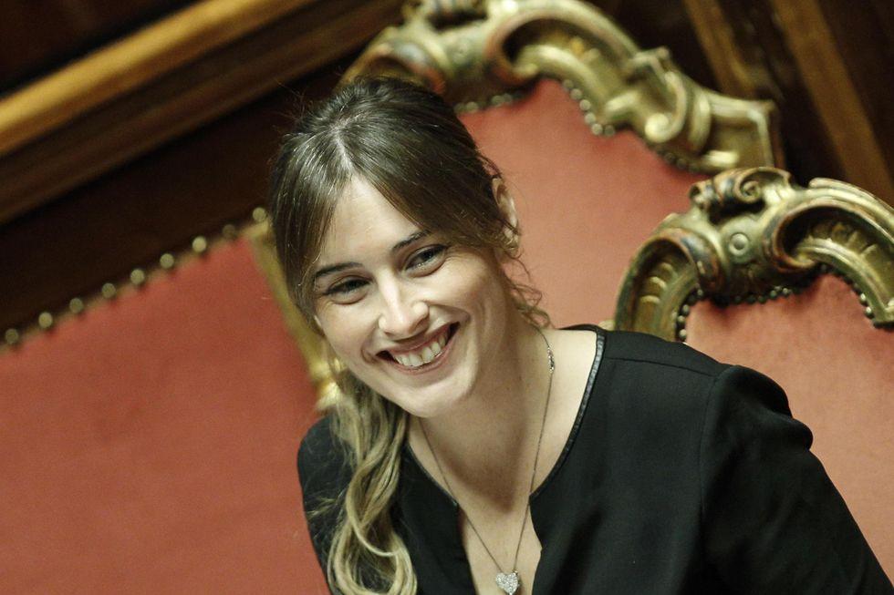 Maria Elena Boschi, bella, forte e vittima del suo stesso potere