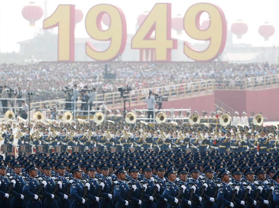 parata militare pechino
