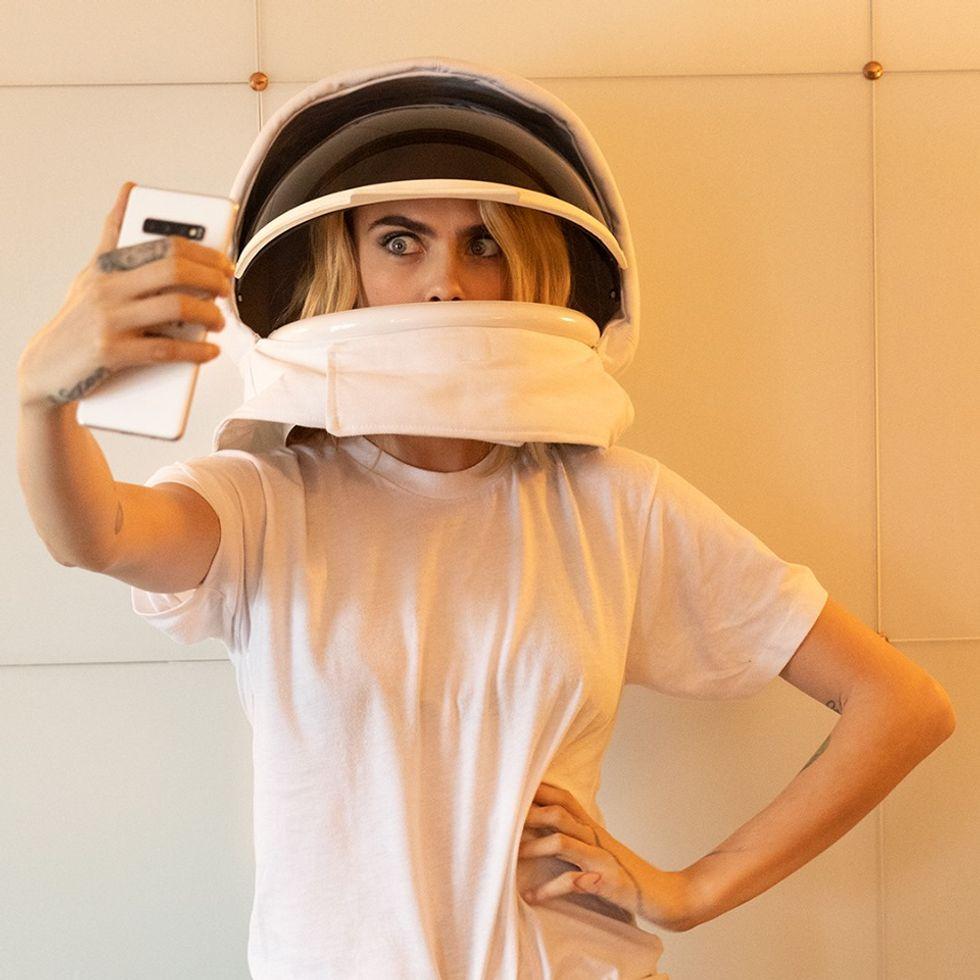 Samsung vuole portare i selfie nello spazio