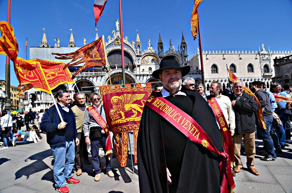 venezia Veneto indipendentisti
