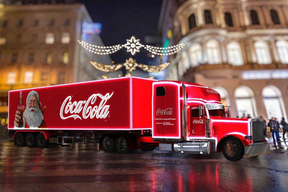 Coca-Cola e Banco Alimentare condividono la magia del Natale