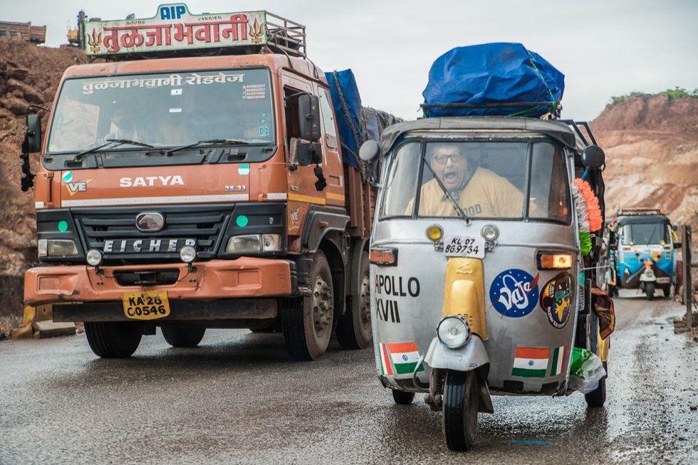 Rickshaw Run - rickshaw -