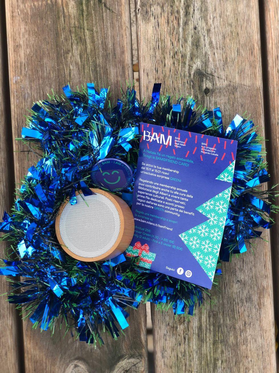 BAMFRIEND, Natale 2019: un regalo green sotto l'albero