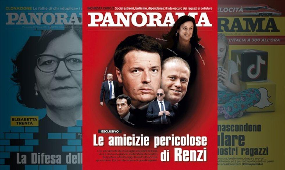 Le amicizie pericolose di Renzi - Panorama in edicola