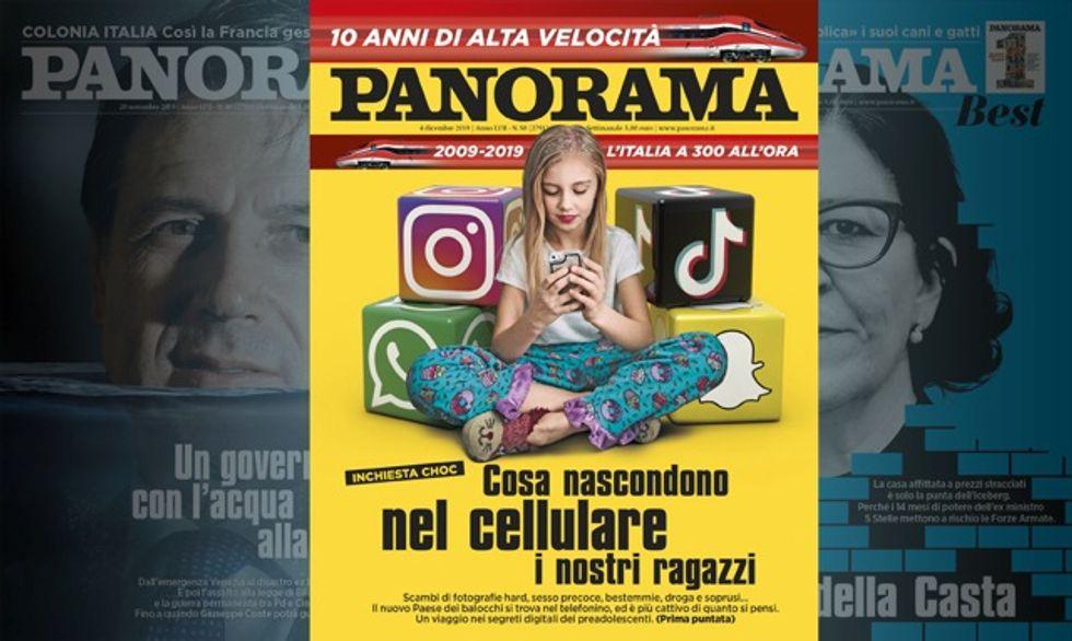Inchiesta choc: il cellulare dei nostri ragazzi - Panorama in edicola
