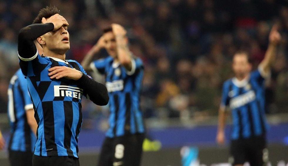 Inter eliminata champions league