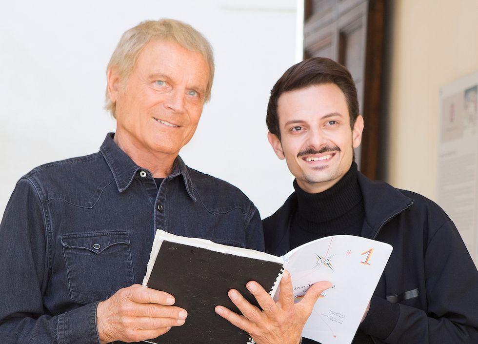 Terence Hill e Rovazzi Don Matteo 12