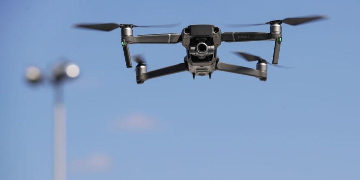 drone volo foto