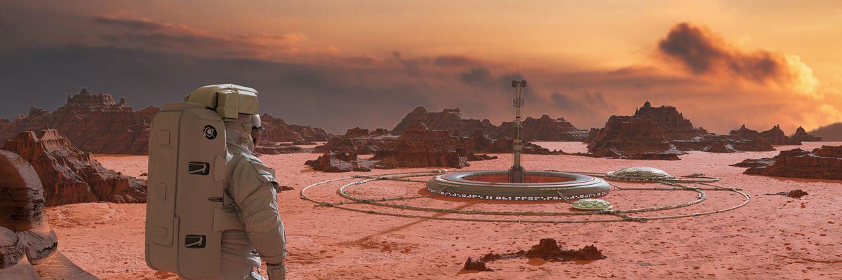 È partita la gara per colonizzare Marte