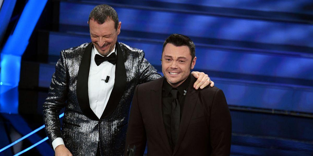 Sanremo 2020: buona la prima per Amadeus, Tiziano Ferro in lacrime