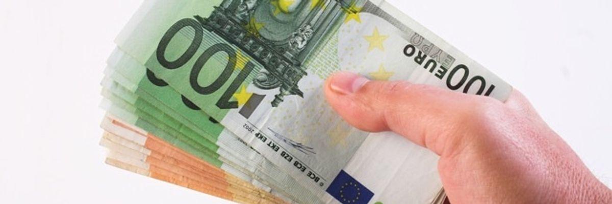 contanti euro banconote