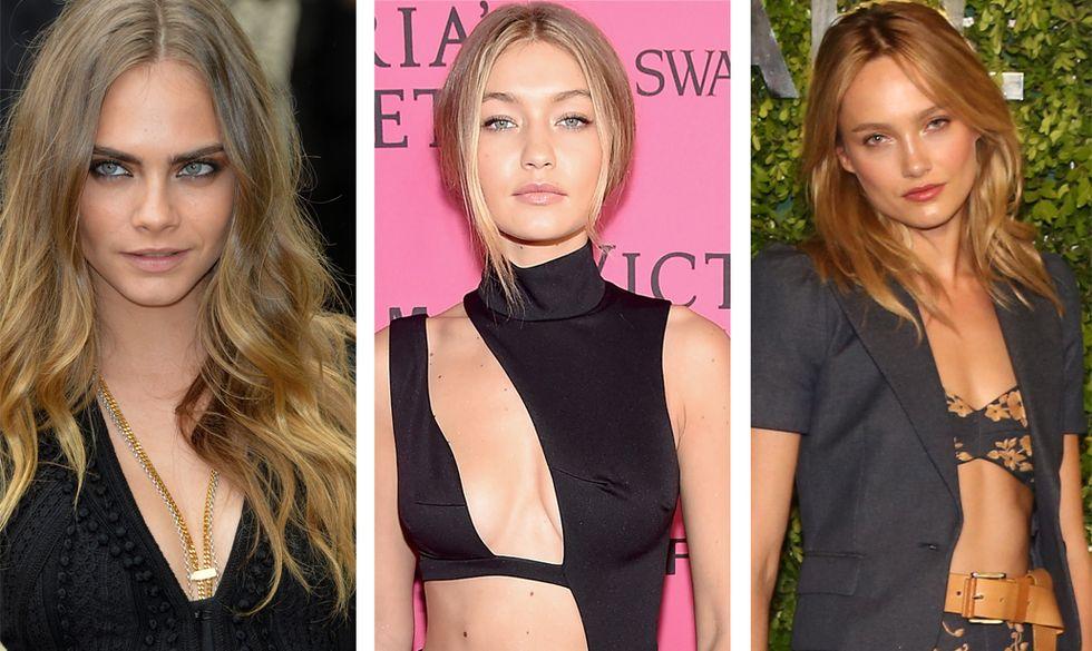 Le 10 modelle più trend del 2015
