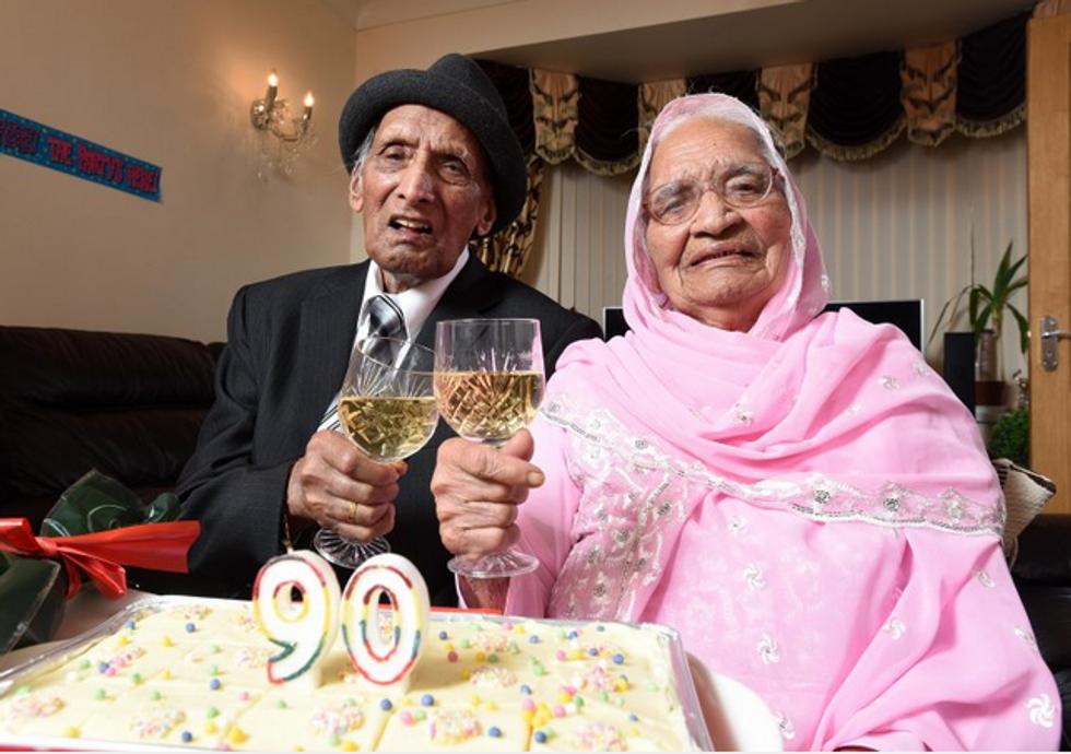 """La coppia più """"vecchia"""" del mondo"""